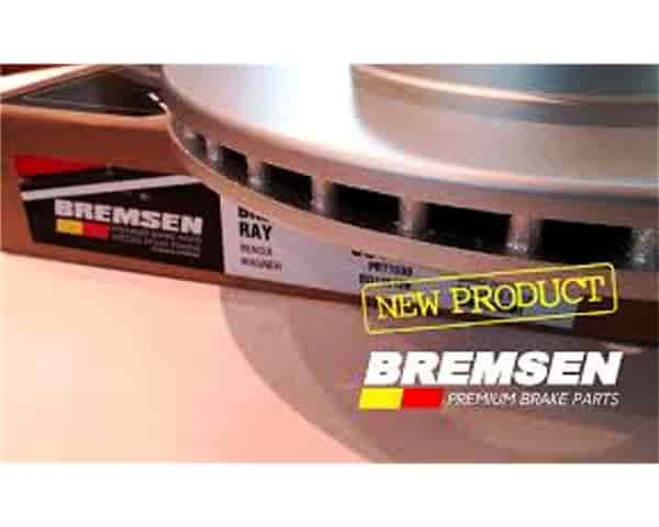 New Bremsen coated brke rotors